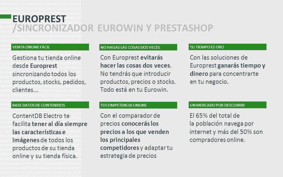 EUROPREST /SINCRONIZADOR EUROWIN Y PRESTASHOP
