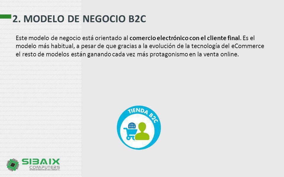 2. MODELO DE NEGOCIO B2C