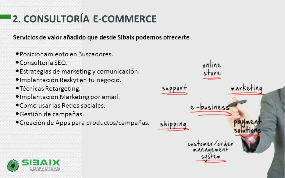 2. CONSULTORÍA E-COMMERCE