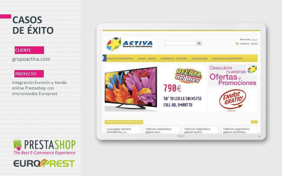 CASOS DE ÉXITO grupoactiva.com CLIENTE PROYECTO