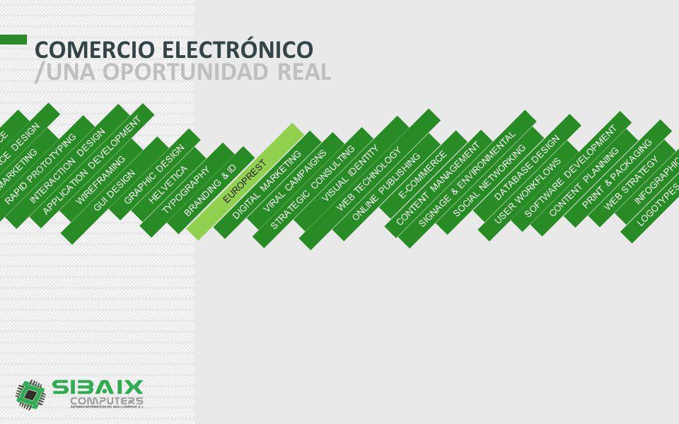 COMERCIO ELECTRÓNICO /UNA OPORTUNIDAD REAL