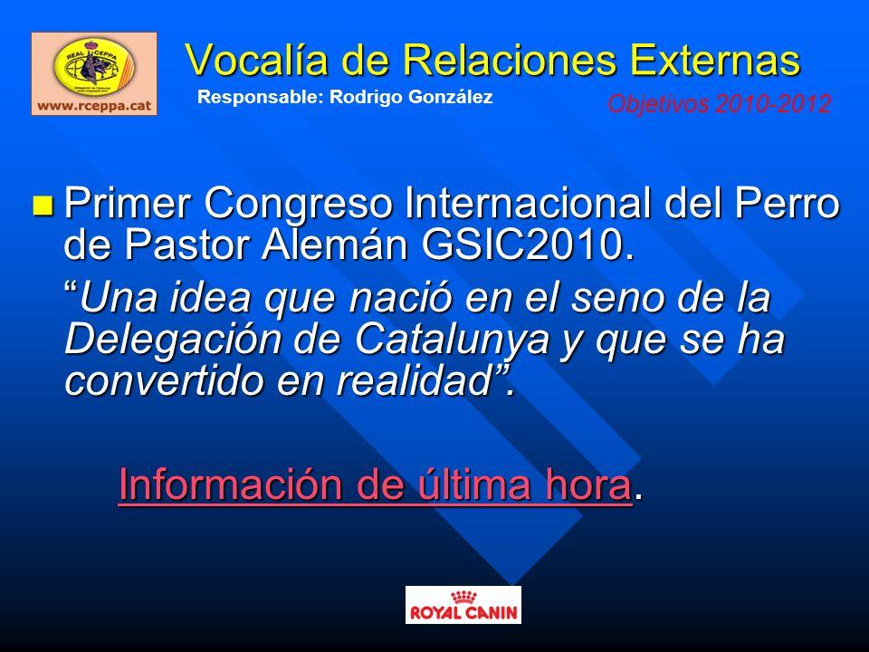 Vocalía de Relaciones Externas