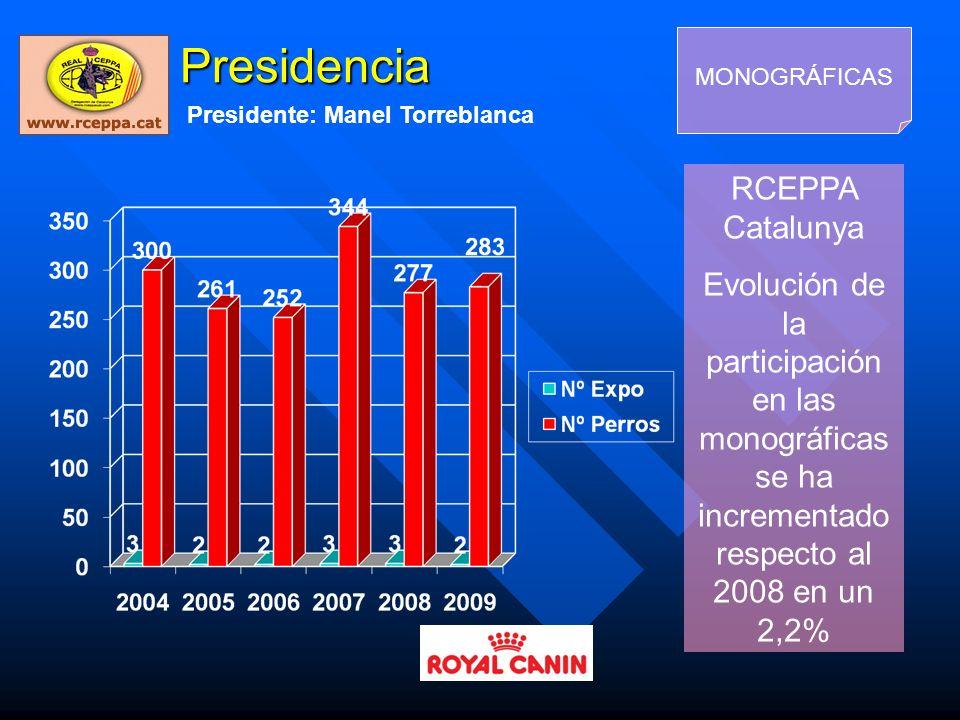 Presidencia RCEPPA Catalunya