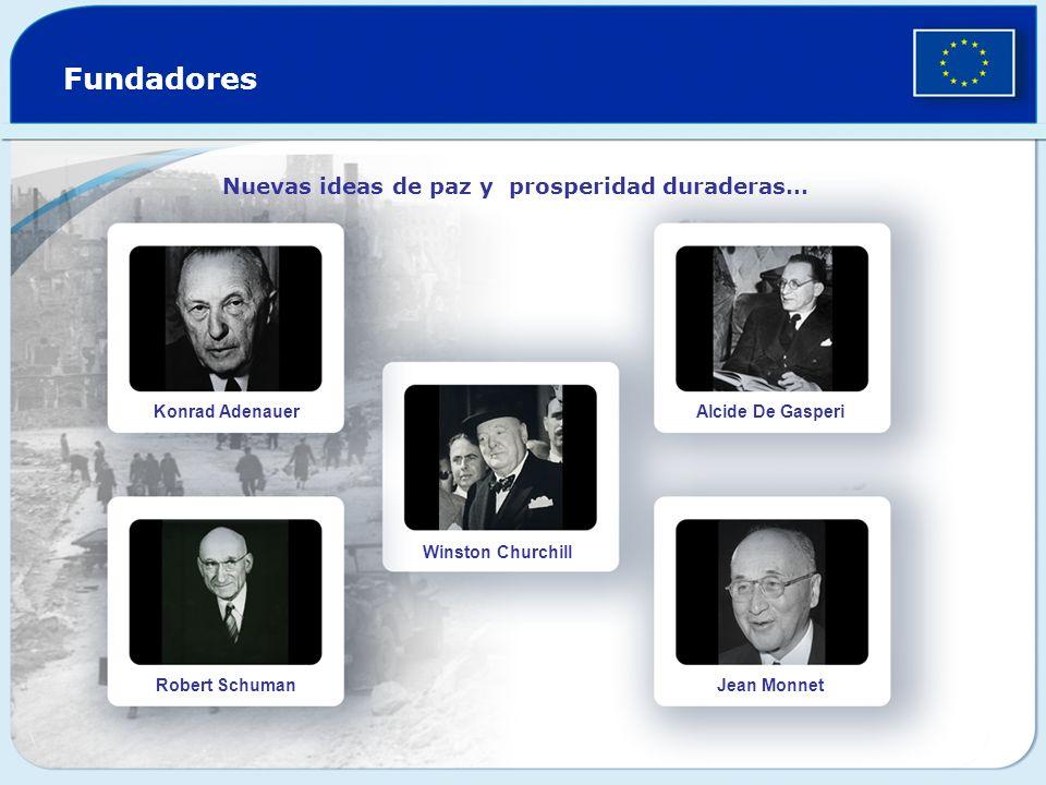 Fundadores Nuevas ideas de paz y prosperidad duraderas…