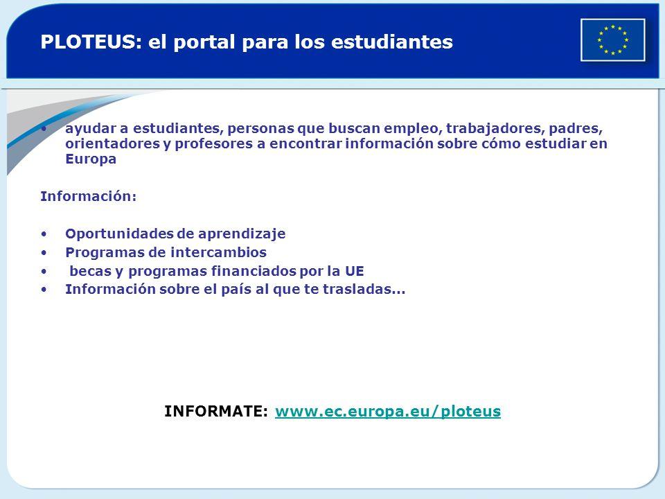 PLOTEUS: el portal para los estudiantes