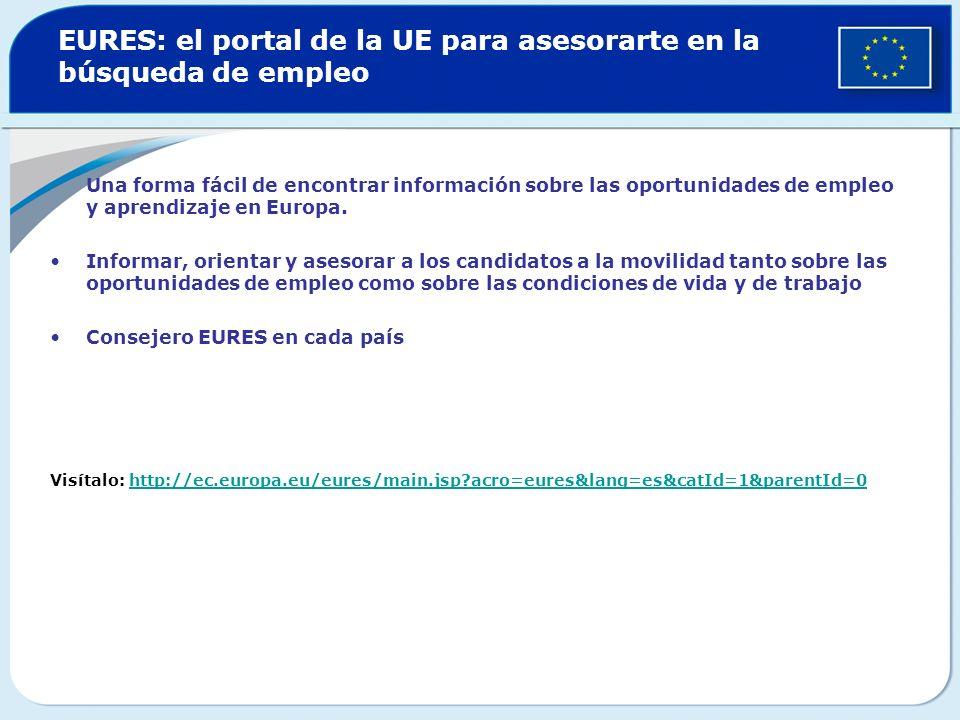 EURES: el portal de la UE para asesorarte en la búsqueda de empleo