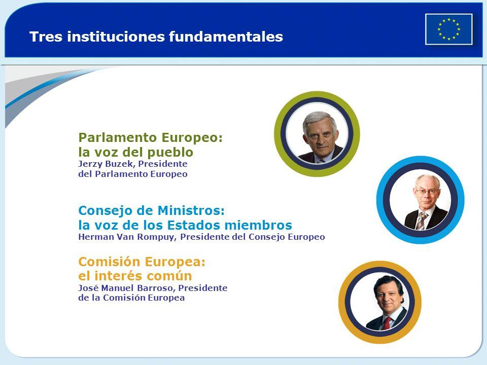 Tres instituciones fundamentales