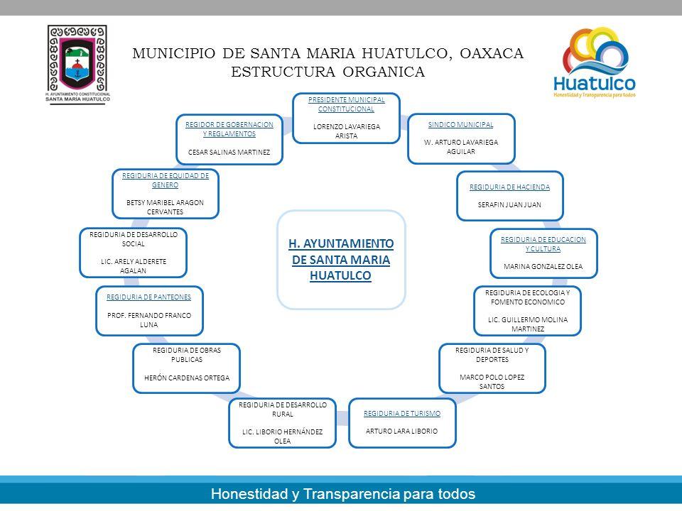 H. AYUNTAMIENTO DE SANTA MARIA HUATULCO