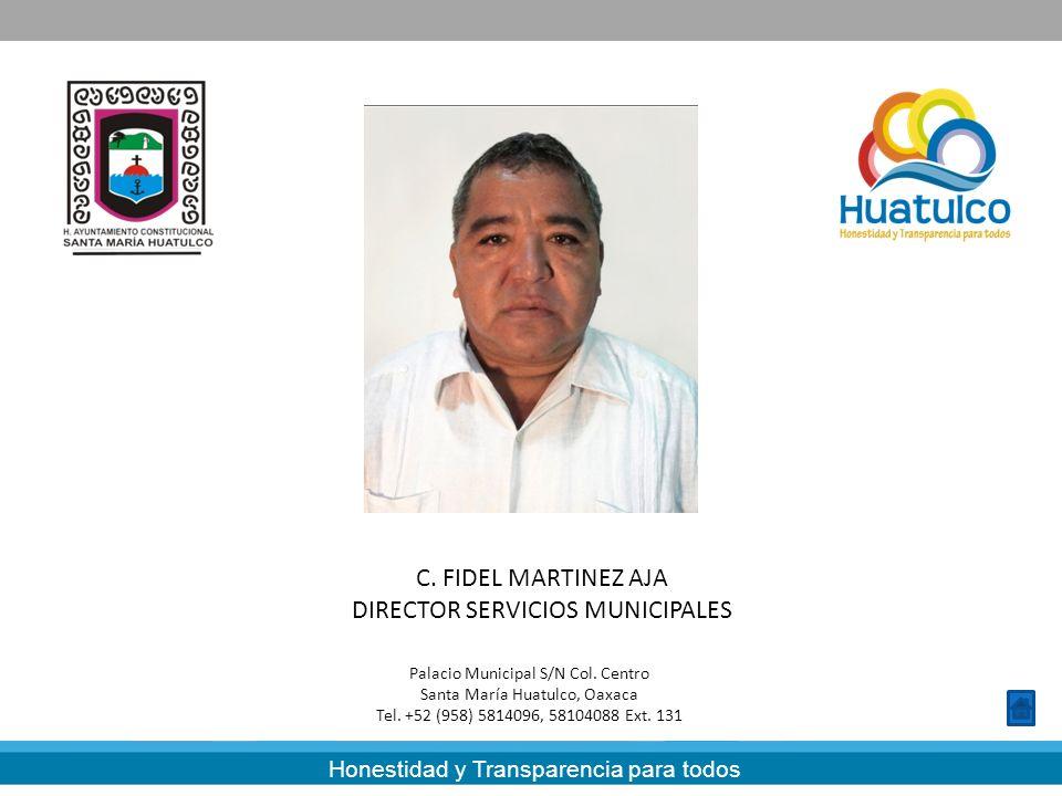 DIRECTOR SERVICIOS MUNICIPALES