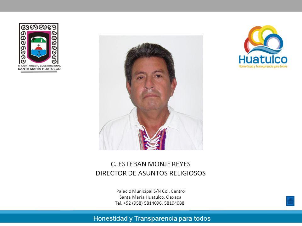 DIRECTOR DE ASUNTOS RELIGIOSOS