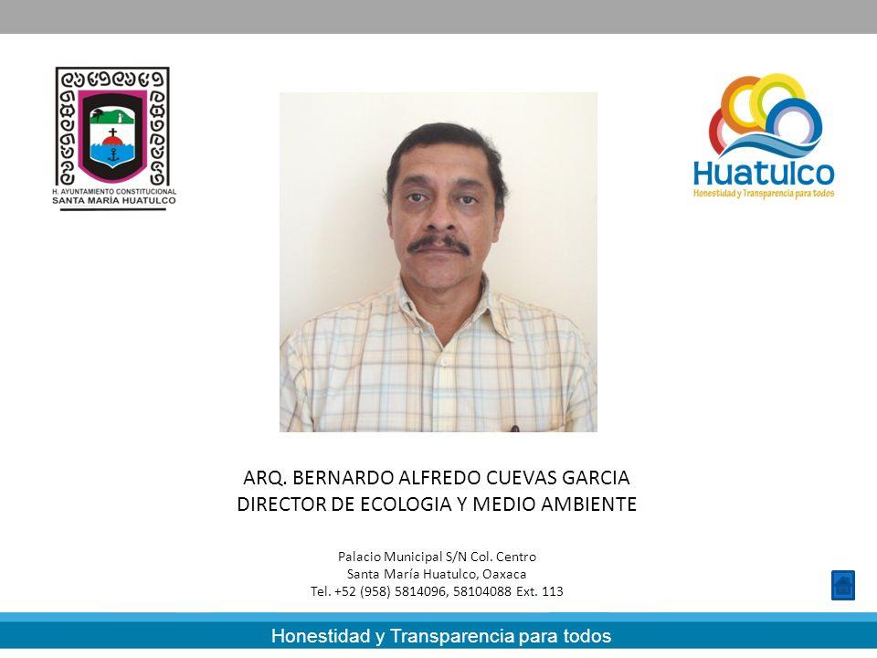 ARQ. BERNARDO ALFREDO CUEVAS GARCIA