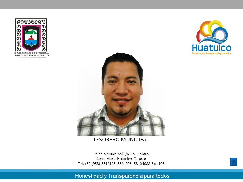 LAT. CARLOS LAVARIEGA GABRIEL TESORERO MUNICIPAL