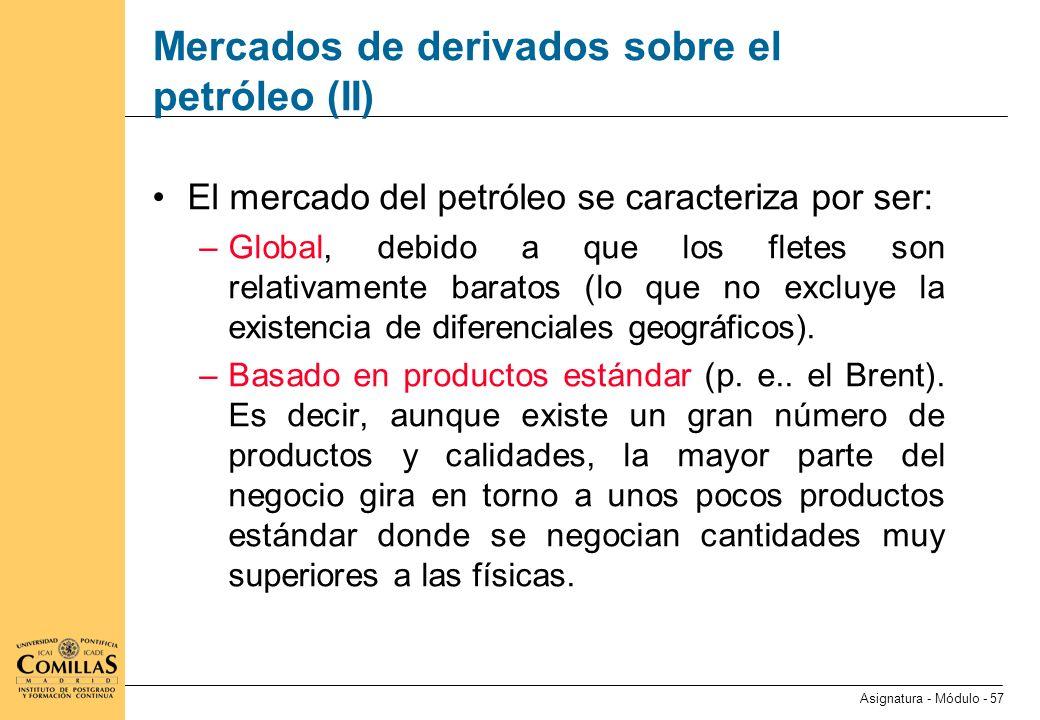 Mercados de derivados sobre el gas natural (I)