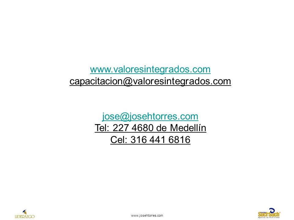 www.valoresintegrados.com capacitacion@valoresintegrados.com