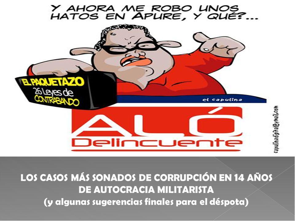 LOS CASOS MÁS SONADOS DE CORRUPCIÓN EN 14 AÑOS