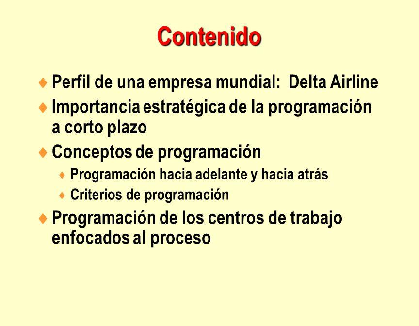 Contenido Perfil de una empresa mundial: Delta Airline