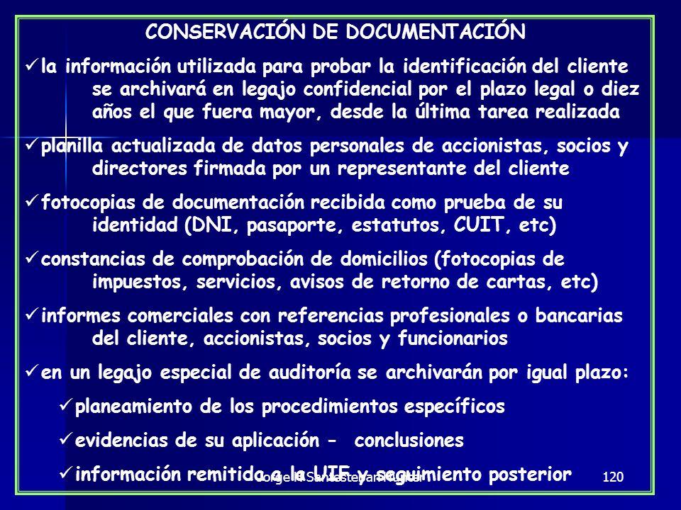 CONSERVACIÓN DE DOCUMENTACIÓN
