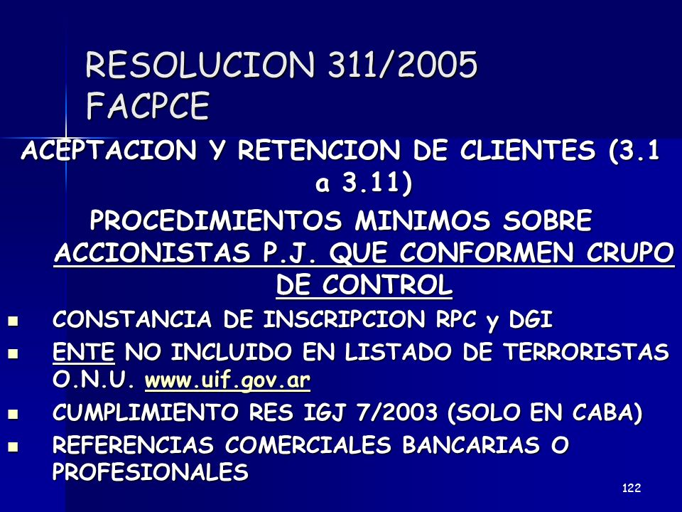 ACEPTACION Y RETENCION DE CLIENTES (3.1 a 3.11)