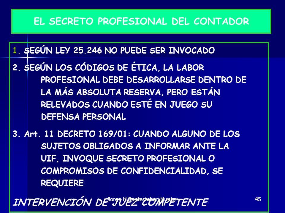 EL SECRETO PROFESIONAL DEL CONTADOR