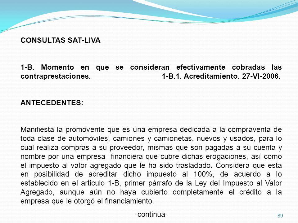 CONSULTAS SAT-LIVA