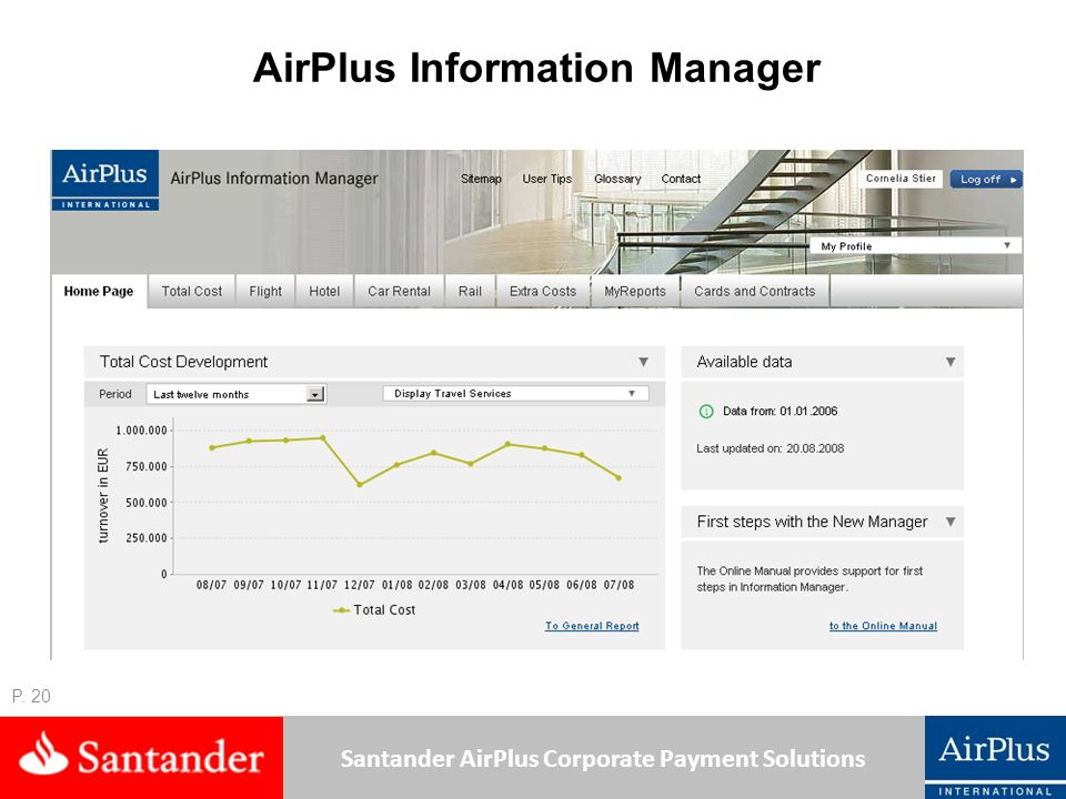 AirPlus Information Manager