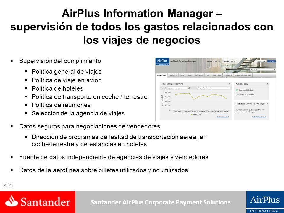 AirPlus Information Manager – supervisión de todos los gastos relacionados con los viajes de negocios
