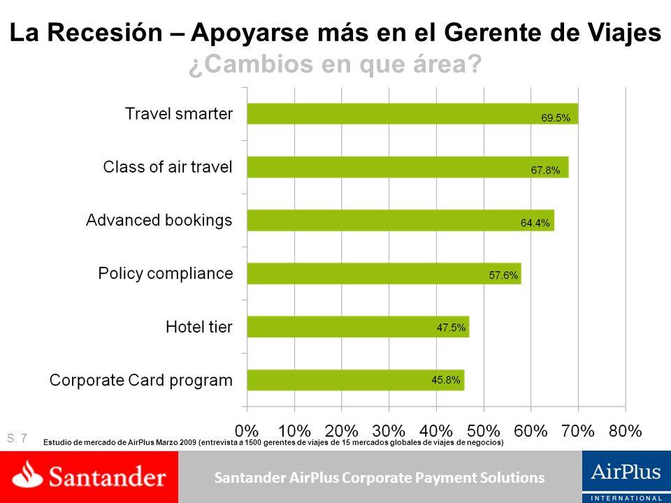 La Recesión – Apoyarse más en el Gerente de Viajes ¿Cambios en que área