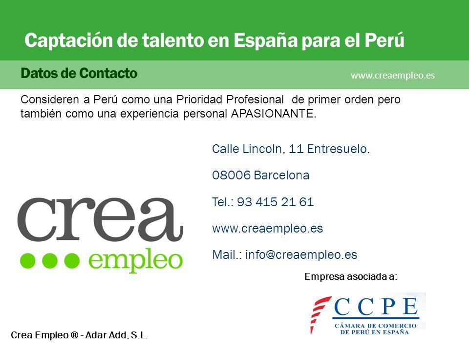 Crea Empleo ® - Adar Add, S.L.