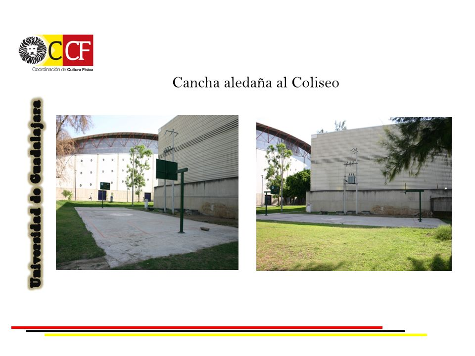 Cancha aledaña al Coliseo