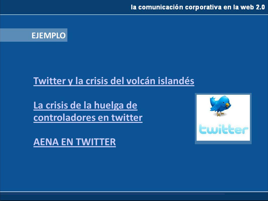 Twitter y la crisis del volcán islandés