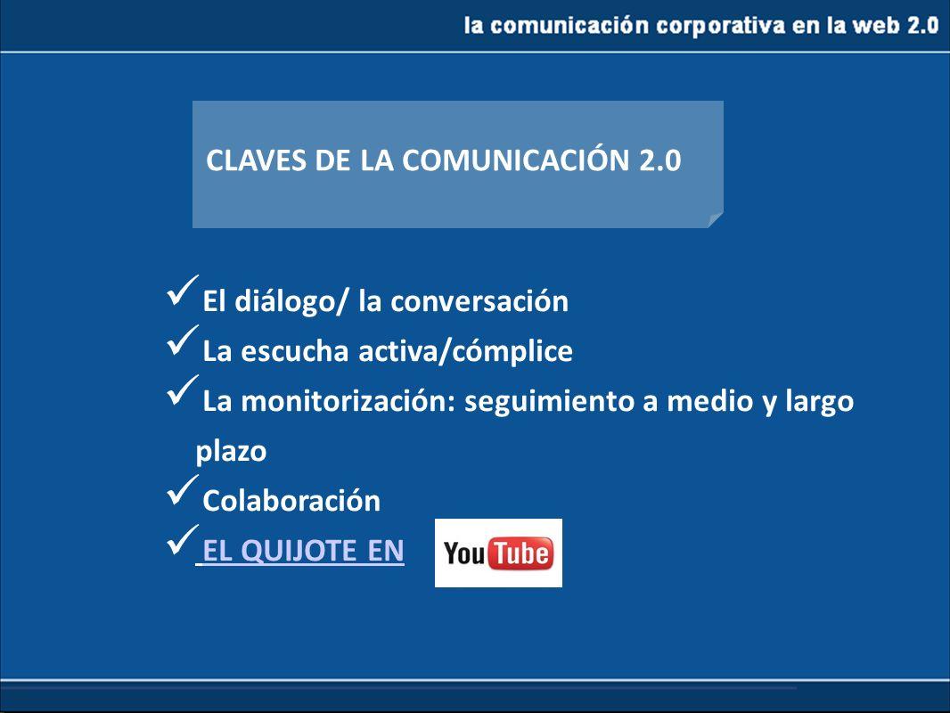 CLAVES DE LA COMUNICACIÓN 2.0