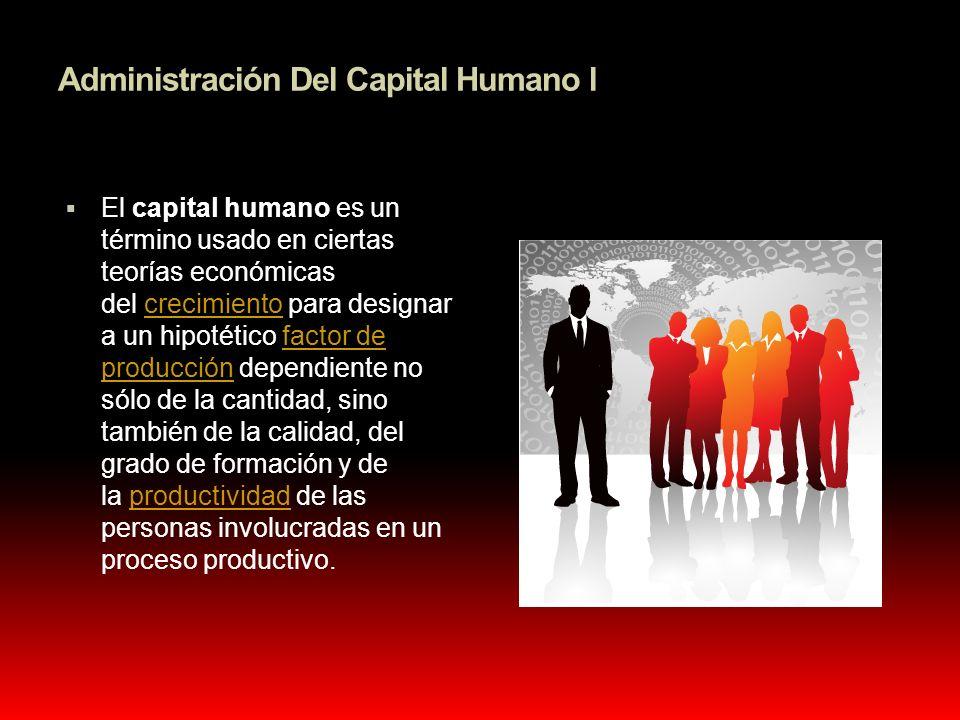 Administración Del Capital Humano l