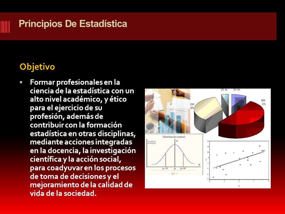 Principios De Estadística