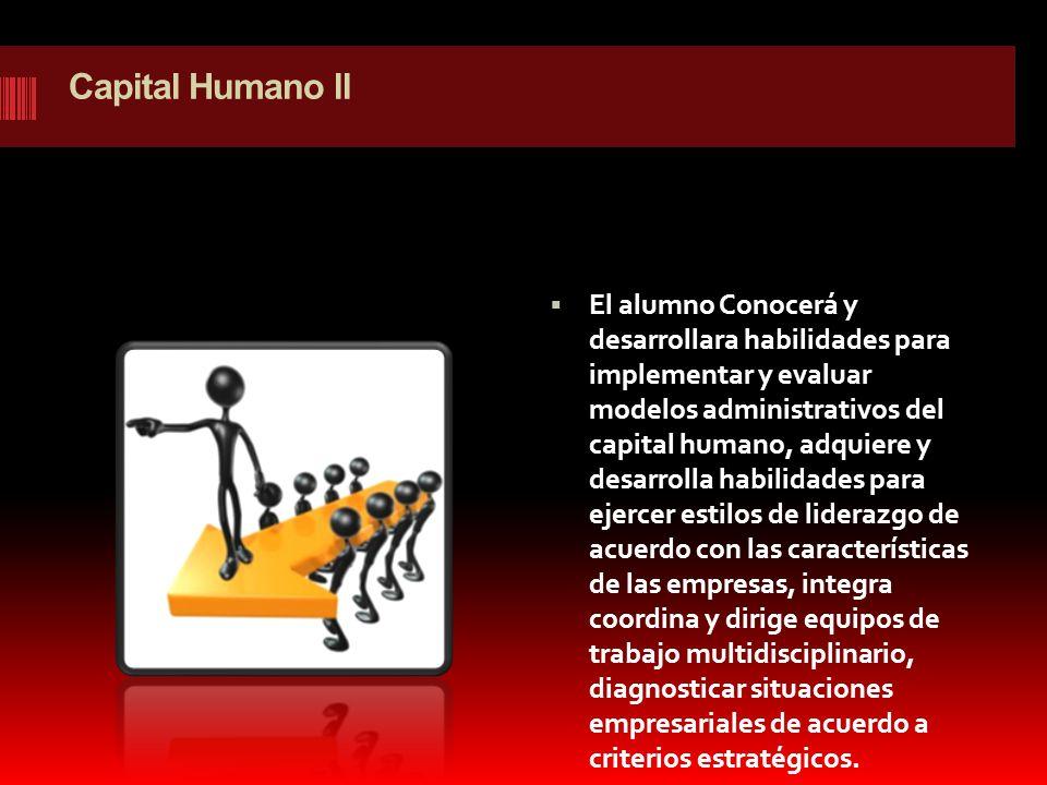 Capital Humano ll
