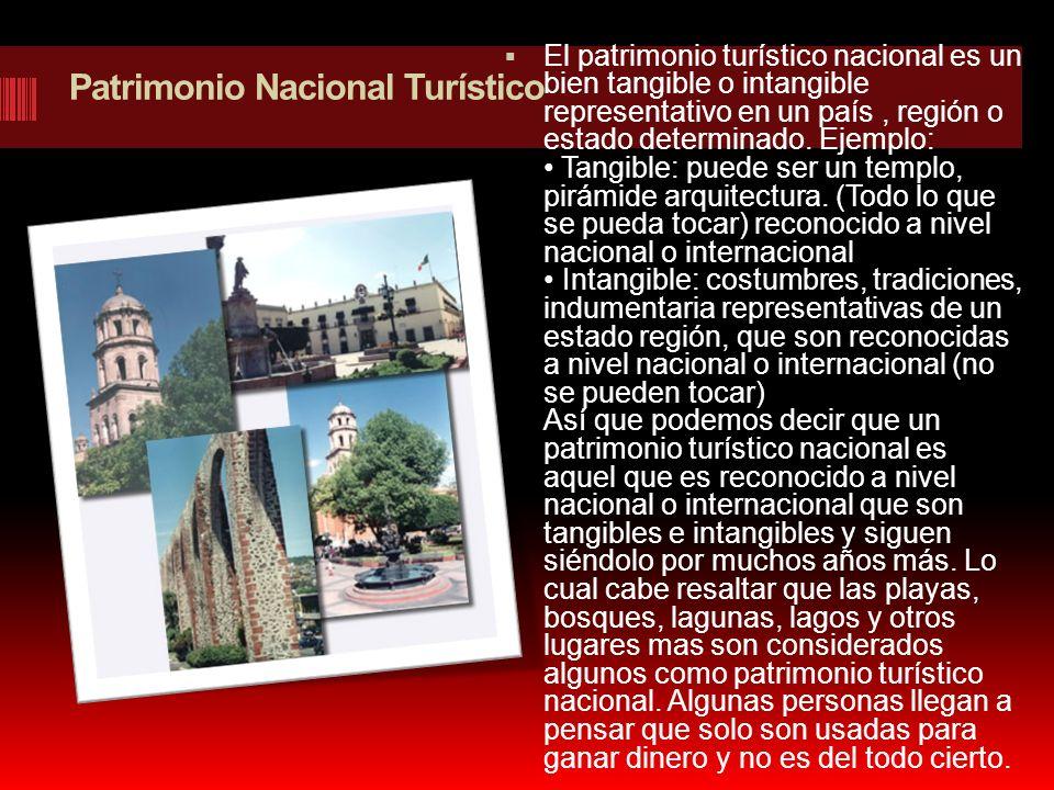 Patrimonio Nacional Turístico