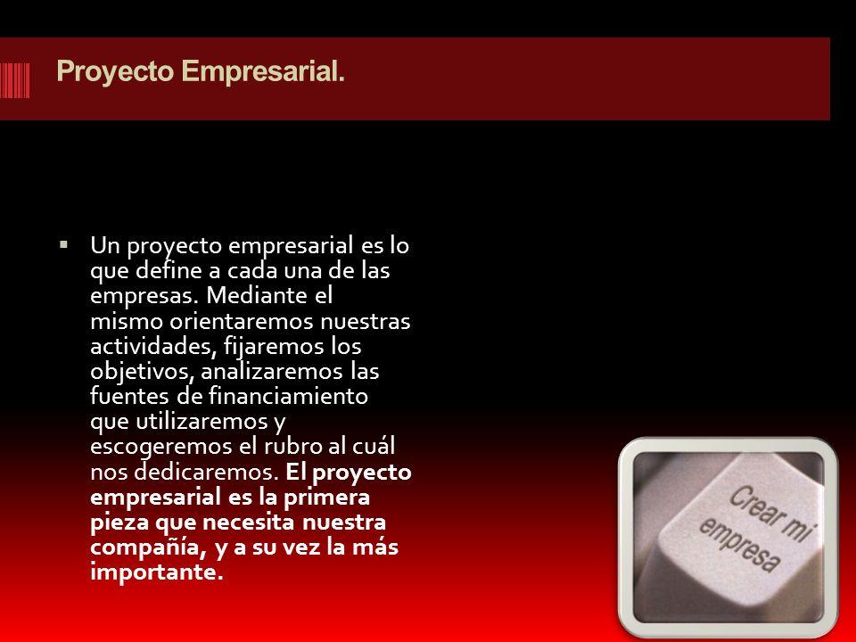 Proyecto Empresarial.