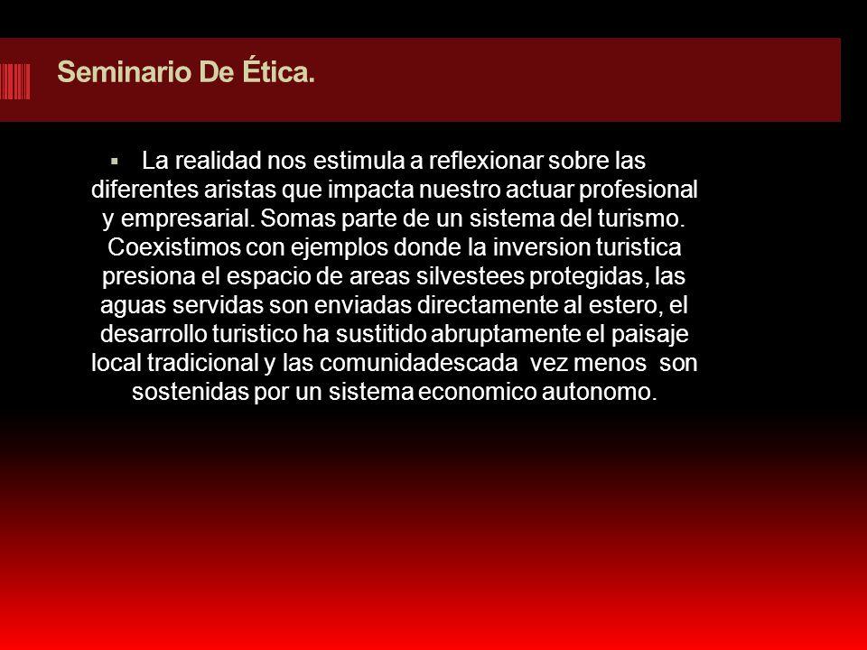 Seminario De Ética.