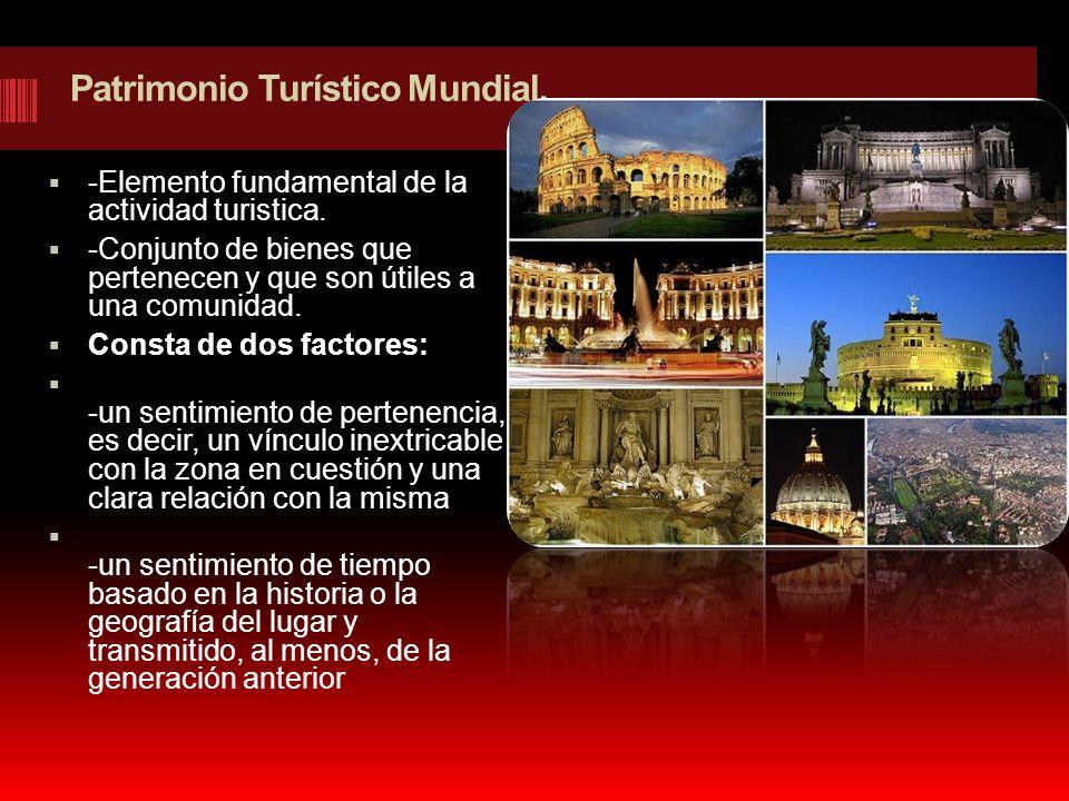 Patrimonio Turístico Mundial.