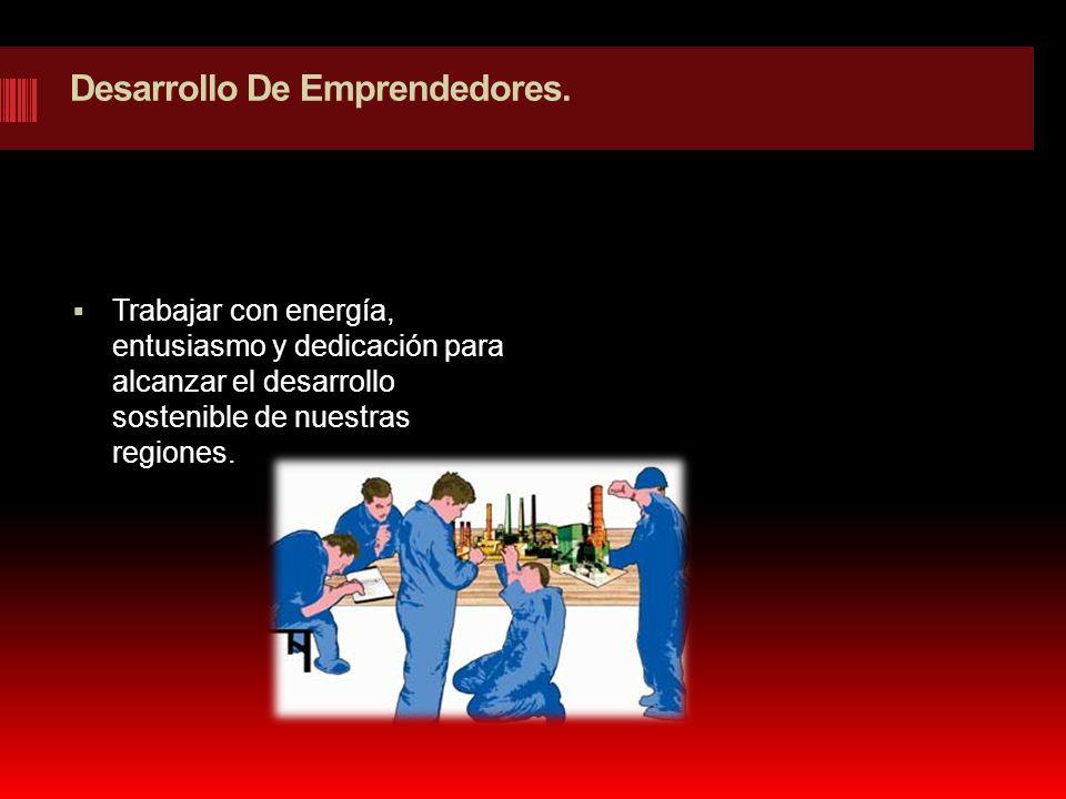 Desarrollo De Emprendedores.