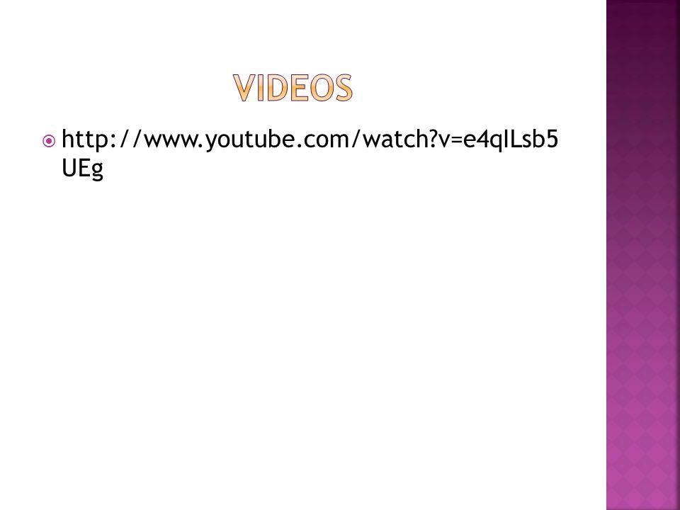 Videos http://www.youtube.com/watch v=e4qILsb5 UEg