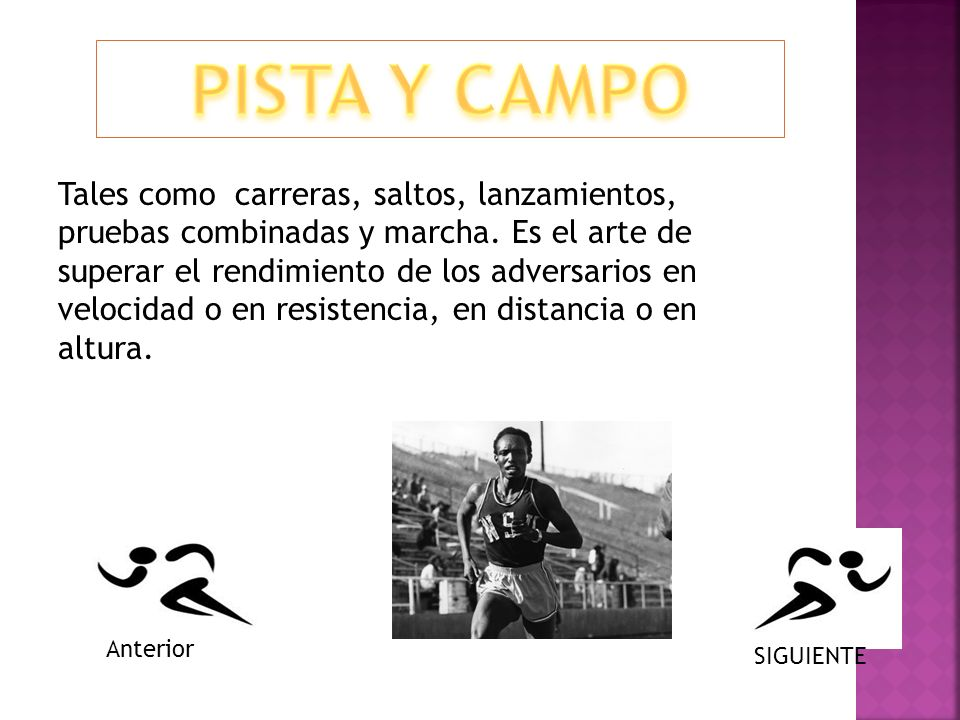 PISTA Y CAMPO