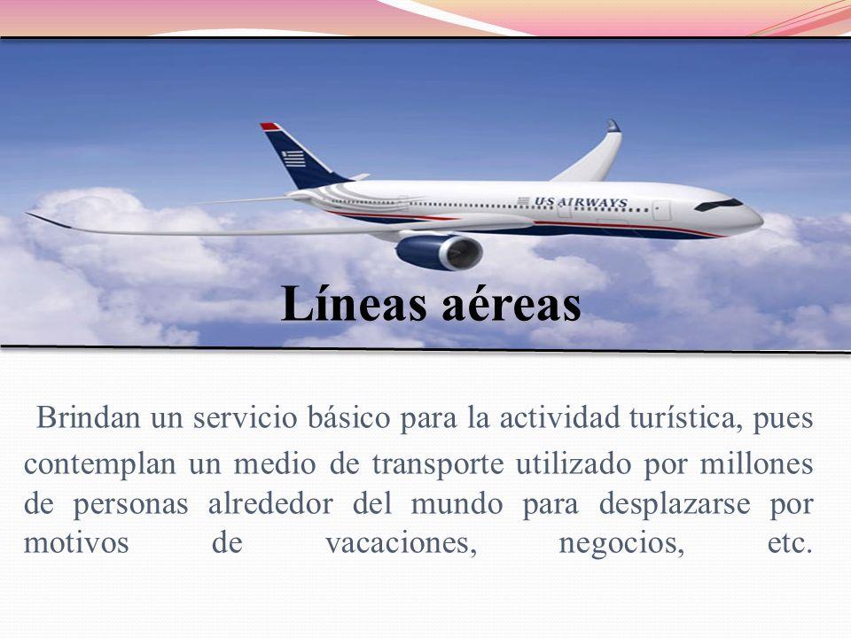 Líneas aéreas