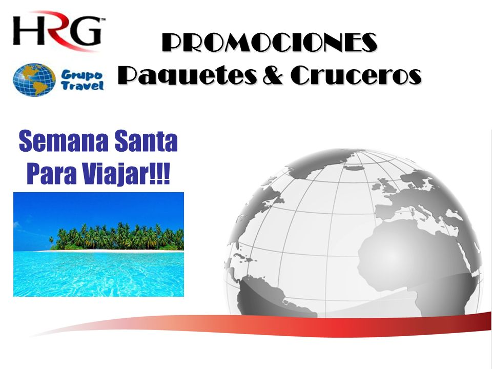PROMOCIONES Paquetes & Cruceros