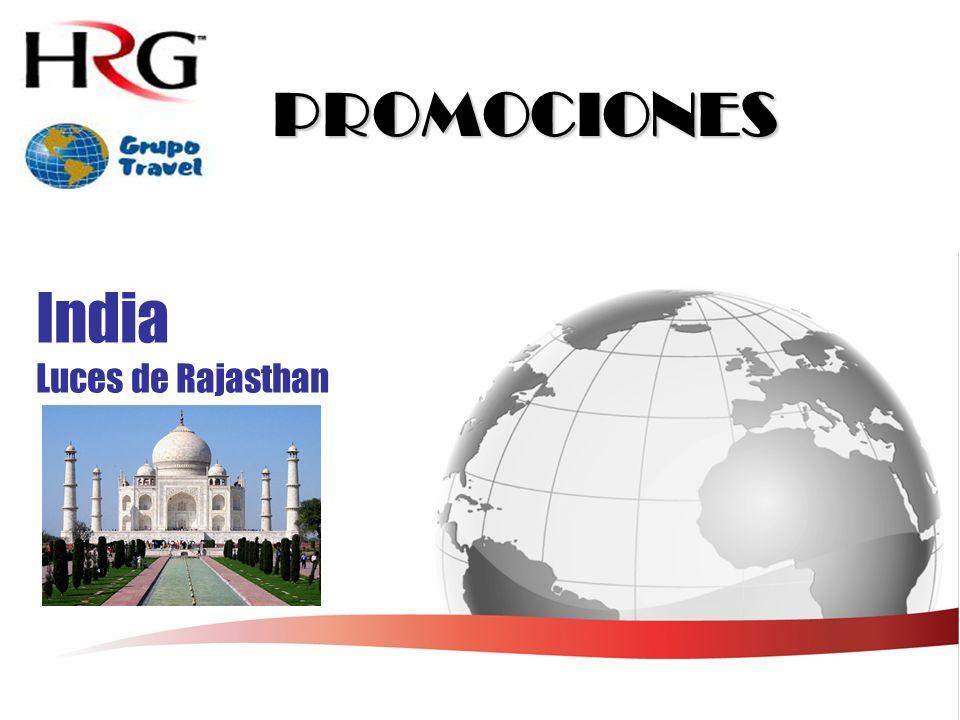 PROMOCIONES India Luces de Rajasthan