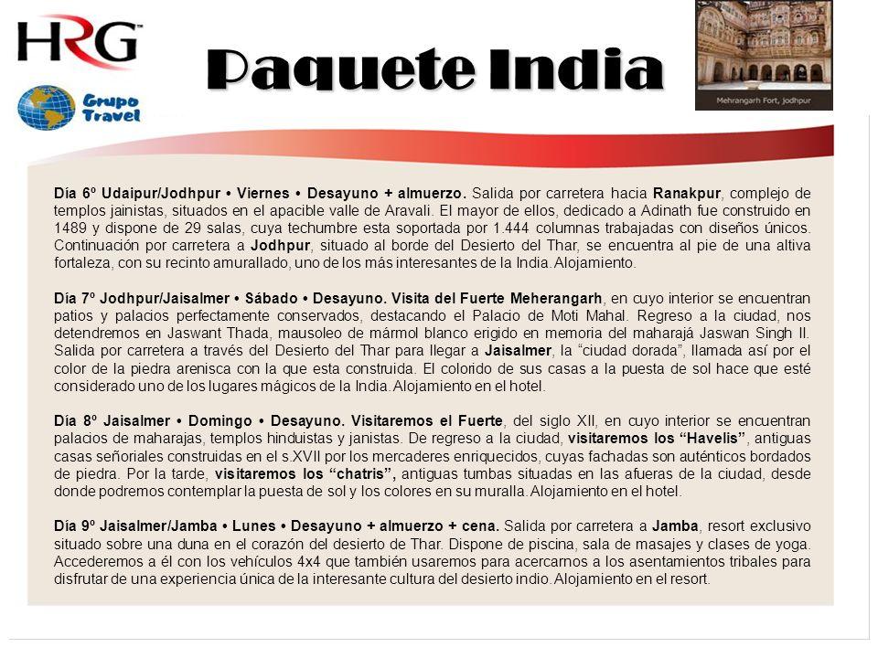 Paquete India