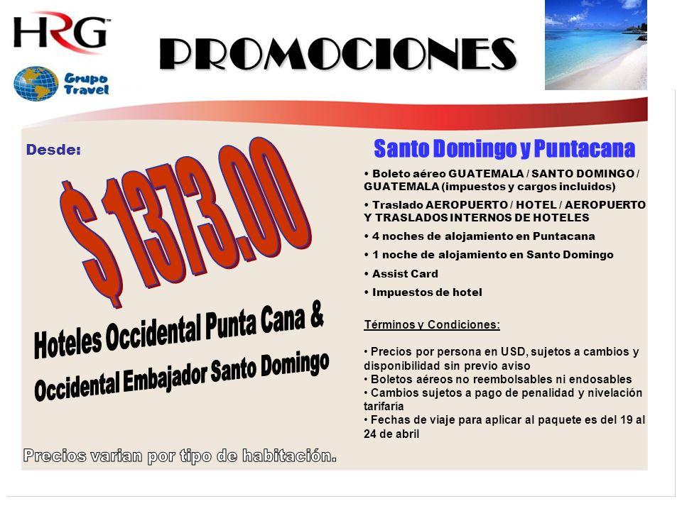 Santo Domingo y Puntacana