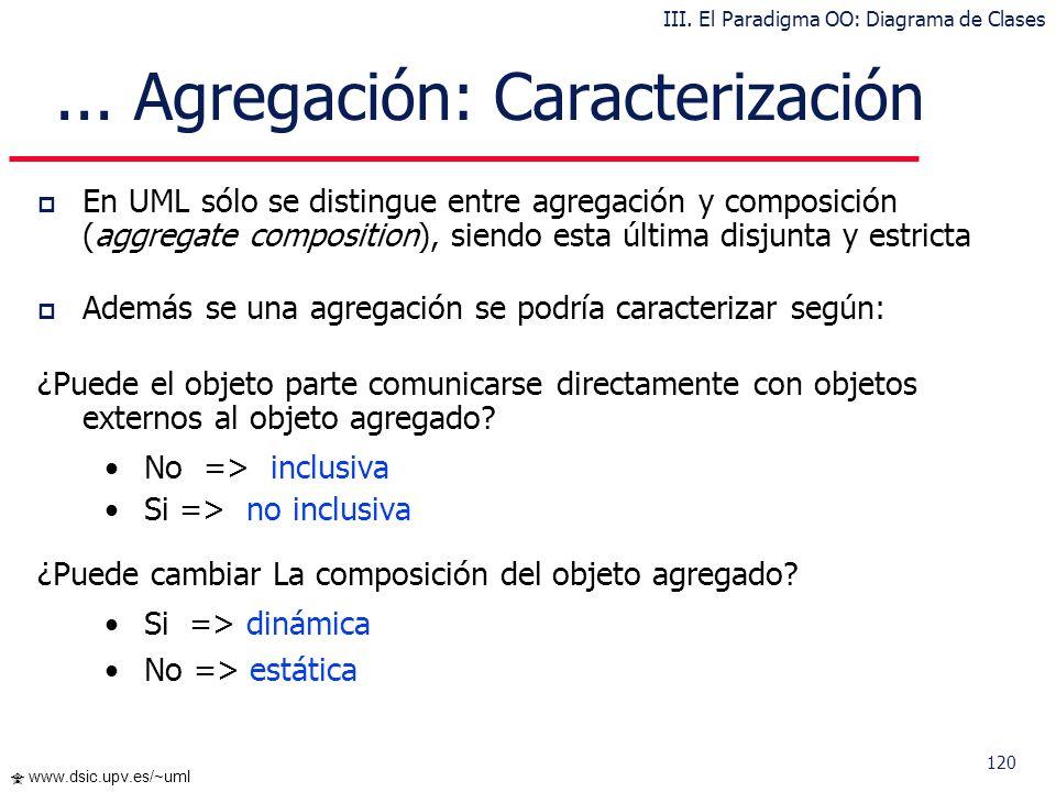 ... Agregación: Caracterización