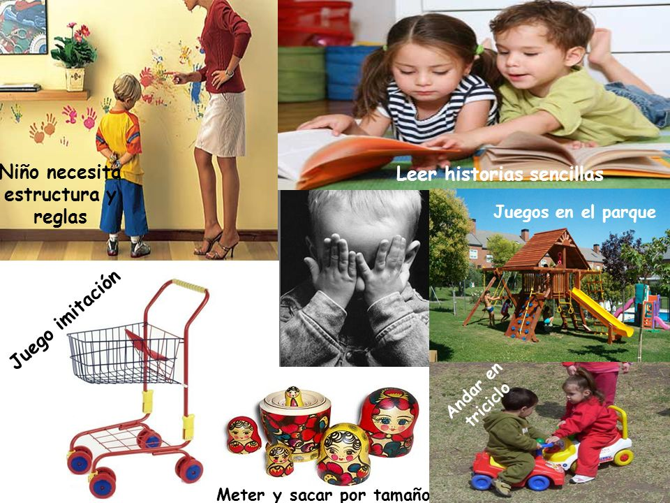 Niño necesita estructura y reglas Leer historias sencillas