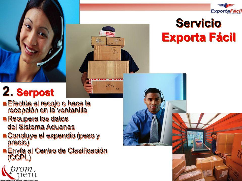 Servicio Exporta Fácil