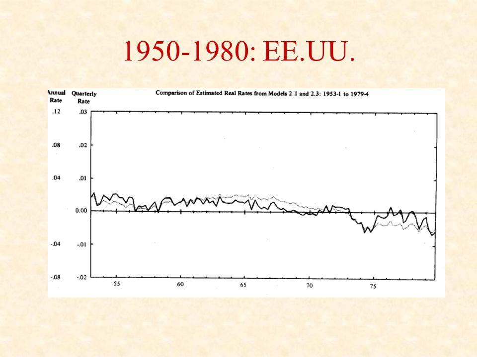 1950-1980: EE.UU.